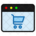 Ecommerce Shopping Page Shopping Icon