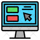 Ecommerce Computer Buy Icon