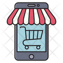 Ecommerce Mobile Cart Icon
