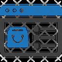Ecommerce E Commerce Online Icon