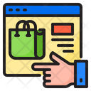 Shopping Online Bag Icon