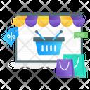 Online Shopping Web Shopping Ecommerce Icon