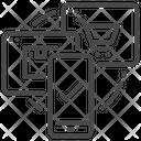 Ecommerce Shopping Internet Icon