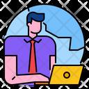 Ecommerce Business Internet Icon