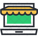 Ecommerce Online Shop Icon