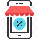 Ecommerce Shop Mobile Icon