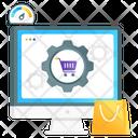 Ecommerce Optimization Seo Shopping Seo Ecommerce Icon