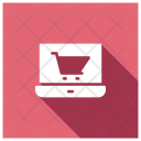 Ecommerce Site Cart Online Icon