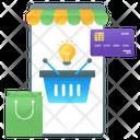 Ecommerce Idea Creative Shopping Online Shopping Icon