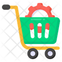 Ecommerce Solutions Order Management Shopping Cart Icon