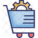 Ecommerce Solutions Ecommerce Technology Online Services Icon