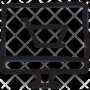 Ecommerce Website Cart Shopping Icon