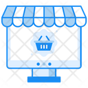 Ecommerce Website Shopping Website Online Shopping Icon