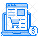 Ecommerce Website Purchasing Website Buying Web Icon