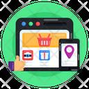 Eshop Online Shopping Buy Online Icon