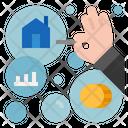 Economic Bubble Icon