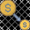 Economic Contraction Economic Contraction Icon