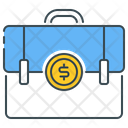 Economic Education Briefcase Business Icon