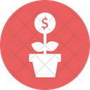 Economic Growth Interest Rate Investment Growth Icon