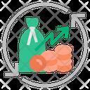 Economic Recovery Icon