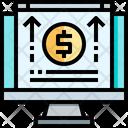 Economy Online Analisis Economy Increase Icon