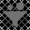 Economy Funnel Filter Icon