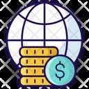 Economy Wealth Global Earning Icon