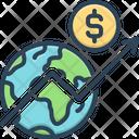 Economy Business Diagram Icon