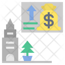 City Prosperous Economy Icon