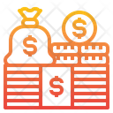 Money Stack Coins Icon
