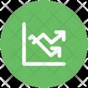 Economy Graph Analytics Icon