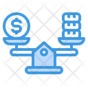 Balance Scale Money Icon