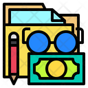Folder Currency Finance Icon