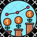 Economy Growth Growth Business Enonomic Icon