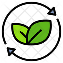 Conservation Green Recycle Icon