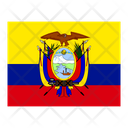 Ecuador Flag Flags Icon