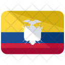 Ecuador Flag Country Icon