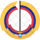 Ecuador Country Flag Icon