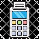 Edc Machine Receipt Icon