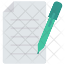 Create Edit Contract Icon