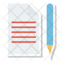Edit Document Files Icon