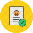 Edit Modify Document Icon