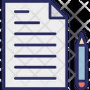 Edit Paper Pen Icon