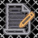 Edit Create File Icon