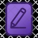 Edit Write Pencil Icon
