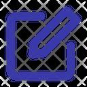 Edit Change Write Icon