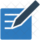 Business Financial Edit Icon
