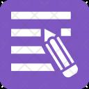 Edit Write Blog Icon
