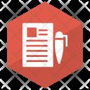 Edit Write Document Icon