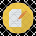 Edit File Create Icon